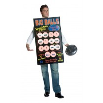 BIG BALLS SCRATCH OFF TICKET