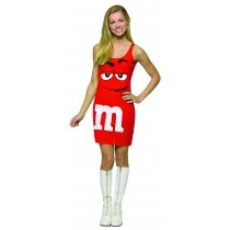 M&M'S RED TANK DRESS 13-16