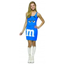 M&M'S BLUE TANK DRESS 13-16