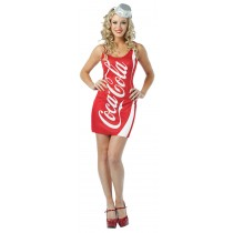 COCA COLA COKE TANK DRESS ADUL