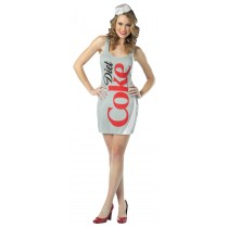 COCA COLA TANK DRESS DIET COKE