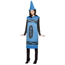 CRAYOLA COSTUME BLUE ADT SM/MD