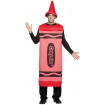 CRAYOLA COSTUME RED ADLT LG/XL