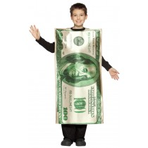 $100 DOLLAR BILL CHILD 7-10
