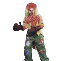 CLOWN BOXING GLOVE SET 4 GLVES