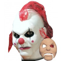 CLOWN FOAM LATEX FACE