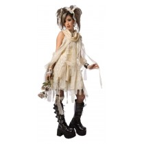 GOTHIC MUMMY ADULT EXTRA SMALL