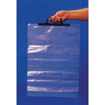 BAGS 13X17 W HANDLE 1 BOX=1