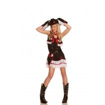 COWGIRL CUTIE WITH HAT MD LG