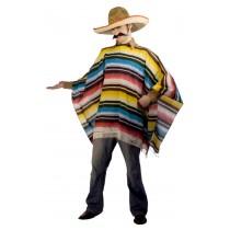 MEXICAN SERAPE & SOMBRERO