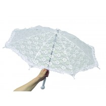 "PARASOL CHILD'S LACE 22"" LONG"