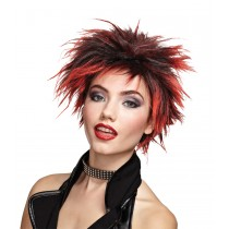 WIG RED PUNKER CHICK