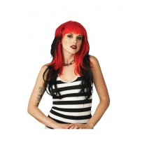 ALTERNA WIG RED/BLACK