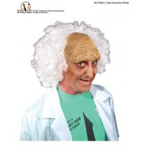 MAD SCIENTIST WIG WHITE