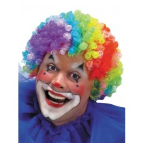 WIG 7 COLOR CLOWN