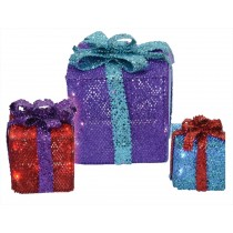 MESH GIFT BOXES 3 BOXES