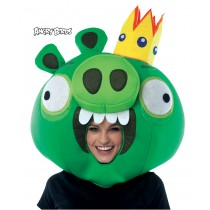 ANGRY BIRDS KING PIG GREEN MSK