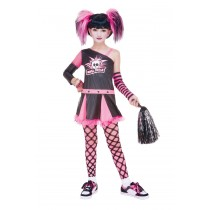 GOTHIC CHEERLEADER CHILD 10-12