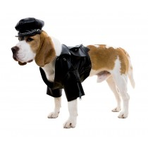 BIKER DOG DOG COSTUME MEDIUM