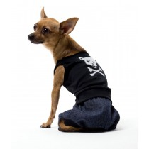 BAD BOY DOG COSTUME SMALL