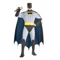BATMAN MUSC CHEST ADULT LG