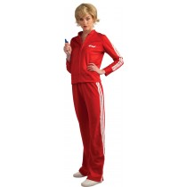 GLEE RED TRACK SUIT (SUE) TEEN