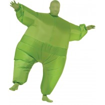 INFLATABLE SKIN SUIT ADULT GRE