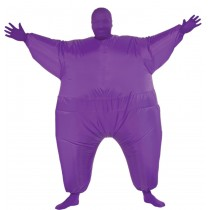 INFLATABLE SKIN SUIT ADULT PUR