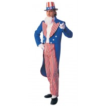 UNCLE SAM ADULT COSTUME SMALL