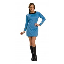 STAR TREK CLASSIC BLU DRESS MD