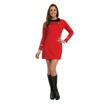 STAR TREK CLASSIC RED DRESS MD
