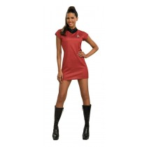 STAR TREK MOVIE RED DRESS MED