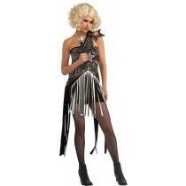LADY GAGA STAR DRESS SMALL