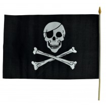 FLAG NYLON PIRATE 1flag=1 UNIT
