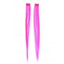 HAIR EXTENSIONS HOT PINK