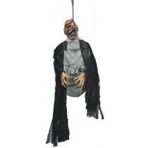 ZOMBIE HANGING BY EYE LIDS