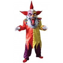 EVIL CLOWN RED YELLOW OVERSIZE