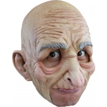 OLD MAN ADULT CHINLESS MASK
