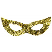 CAT MASK SEQUIN GOLD