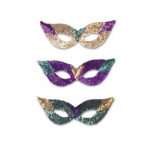 CAT EYE MASKS SEQ ASST COLOR