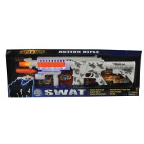 SWAT ACTION RIFLE SILENCER WHT