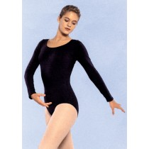 LEOTARD L S RED LARGE