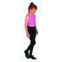 TIGHTS CHILD BLACK LRG 7 TO 10