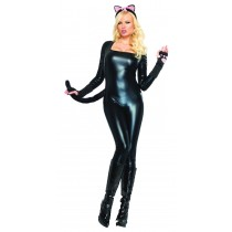 BODY SUIT BLACK LARGE