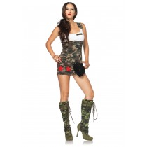 COMBAT CUTIE CAMOUFLAGE SMALL