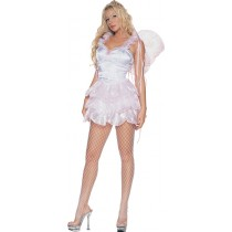 PIXIE WITH WINGS MEDIUM PINK