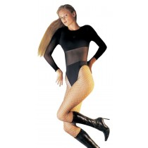FISHNET PANTYHOSE LYCRA BLACK