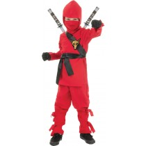 NINJA - CHILD RED MEDIUM
