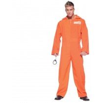 ORANGE PRISON JUMPSUIT STD