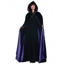 CAPE DLX 63 INCH BLK/PURPLE